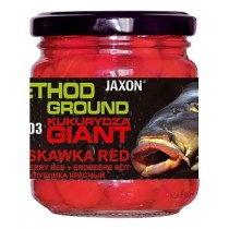 KUKURYDZA GIANT JAXON METHOD GROUND TRUSKAWKA RED 125G FG-CA03