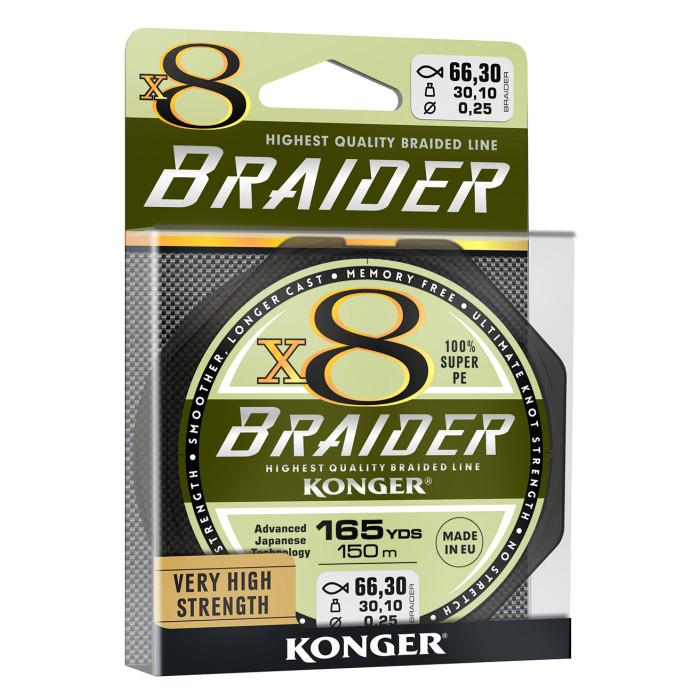 PLECIONKA KONGER X8 BRAIDER 150M 0.25MM