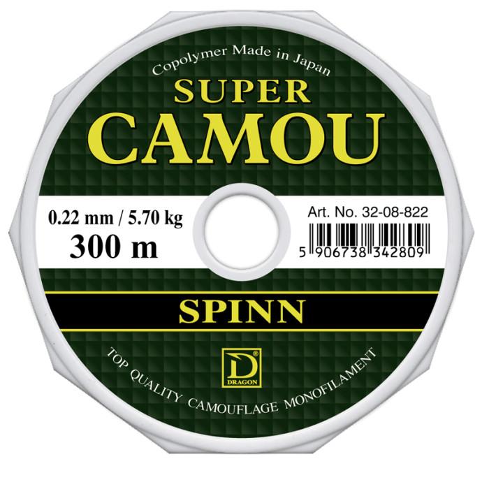 ŻYŁKA DRAGON SUPER CAMOU SPINN 0,25/150M