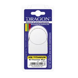 PRZYPON DRAGON HM NI-TITANIUM 35CM 15KG 56-015-35