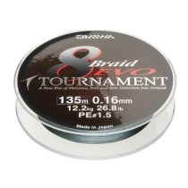 PLECIONKA DAIWA TOURNAMENT 8BRAID EVO 135M 0.20MM 12780-020