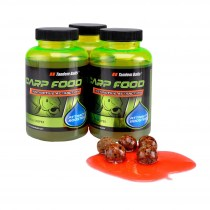ATRAKTOR CARP FOOD ATTRACT BOOSTER 300ML CZARNY HALIBUT 11055